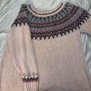 Cozy winter sweater!